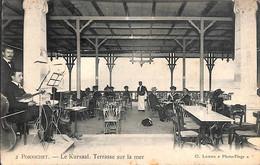 44 - Pornichet - Le Kursaal. Terrasse Sur La Mer (Cl. Lahore Photo-Plage Animée 1921) - Pornichet