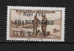 Spm38 -Saint Pierre & Miquelon N°217B Neuf Surcharge Non Garantie D'Origine CV + De 90,00 €uros - Non Classificati