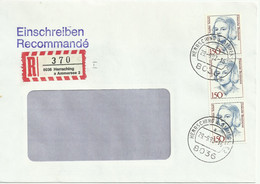 Registered Cover/Brief Herrsching A Ammersee. 1992 MIN 1487 - Storia Postale