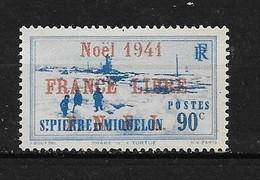 Spm43 -Saint Pierre & Miquelon N°220A Neuf Surcharge Non Garantie D'Origine CV + De 55,00 €uros - Non Classificati