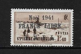 Spm50 -Saint Pierre & Miquelon N°223B Neuf Surcharge Non Garantie D'Origine CV + De 90,00 €uros - Non Classificati