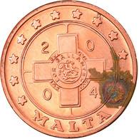 Monnaie, Malte, 1 Cent, 2004, Proof, SUP, Cuivre - Malta