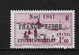Spm52 -Saint Pierre & Miquelon N°224B Neuf Surcharge Non Garantie D'Origine CV + De 90,00 €uros - Unclassified
