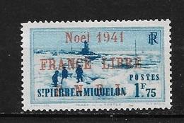 Spm53 -Saint Pierre & Miquelon N°225A Neuf Surcharge Non Garantie D'Origine CV + De 60,00 €uros - Non Classificati