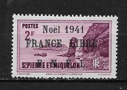 Spm56 -Saint Pierre & Miquelon N°226B Neuf Surcharge Non Garantie D'Origine CV + De 90,00 €uros - Unclassified