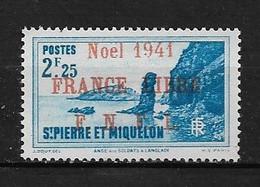 Spm57 -Saint Pierre & Miquelon N°227A Neuf Surcharge Non Garantie D'Origine CV + De 65,00 €uros - Non Classificati
