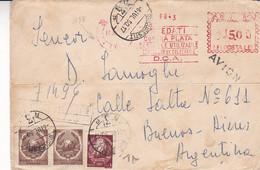 ROUMANIE. PREDATI CONTRA PLATA DESEURI UTILIZABILE CENTRELOR DE COLECTARE. ENVELOPPE CIRCULEE ANNEE 1917.- LILHU - Covers & Documents