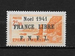 Spm60 -Saint Pierre & Miquelon N°228B Neuf Surcharge Non Garantie D'Origine CV + De 90,00 €uros - Unclassified
