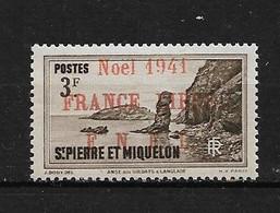 Spm61 -Saint Pierre & Miquelon N°229A Neuf Surcharge Non Garantie D'Origine CV + De 75,00 €uros - Non Classificati
