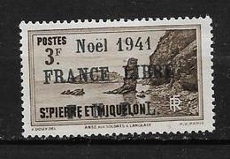 Spm62 -Saint Pierre & Miquelon N°229B Neuf Surcharge Non Garantie D'Origine CV + De 90,00 €uros - Non Classificati