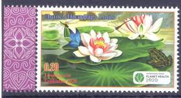 2020. Tajikistan,  International Year Of Plant Health, Stamp With OP, Mint/** - Tayikistán