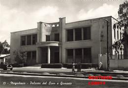 Somalie Somalia Mogadiscio Palazzo Del Liceo E Ginnasio Batiment Et Gymnase Ecole Secondaire CPSM GF - Somalie