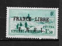 Spm86 -Saint Pierre & Miquelon N°266 Neuf Surcharge Non Garantie D'Origine CV + De 1200,00 €uros - Unclassified