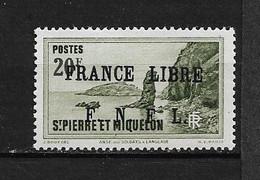 Spm90 -Saint Pierre & Miquelon N°273 Neuf Surcharge Non Garantie D'Origine CV + De 1500,00 €uros - Unclassified