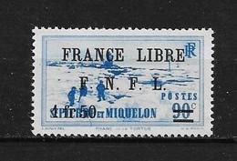 Spm93 -Saint Pierre & Miquelon N°277 Neuf Surcharge Non Garantie D'Origine CV + De 30,00 €uros - Non Classificati