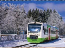 Regio Shuttle Der Süd Thüringen Bahn STB,bei Neuhaus-Igelshieb, Ungelaufen - Trenes