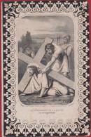 Zeer Oud 19de Eeuws Doodsprentje Maria Elisabeth Schouteden Zonhoven 1863 Bidprentje - Devotion Images