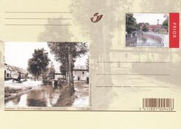 Carte Entier Postal Neuve Zoutleeuw De Ghete En Schipstraat - Zoutleeuw