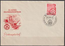 DDR FDC 1956 Nr.527  10 Jahre Volkseigene Betriebe VEB (d 4435 ) Günstige Versandkosten - FDC: Covers