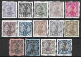 Portugal – 1910 King Manuel II Mint Complete Set - Unused Stamps
