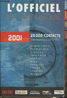L'officiel De La Musique 2001 - Collectif - 2000 - Annuaires Téléphoniques