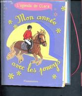 Mon Année Avec Les PoneysL'agenda De Clara - Mireille Mirej, Bruno Pilorget - 0 - Blank Diaries