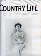 Country Life Vol.XXII N°571 Saturday December 14th 1907 - Our Portrait Illustration Lady Isabel Scott - Pheasants' Eggs  - Language Study