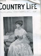 Country Life Vol.XX N°517 Saturday December 1st 1906 - Our Portrait Illustration Lady Margaret Orr Ewing - Plain Living  - Language Study