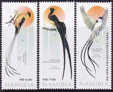 Namibia 2016 MiNr. 1533 - 1535  BIRDS 3v  MNH** 13,00 € - Namibia (1990- ...)
