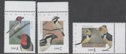 Namibia 2017  BIRDS 3v  MNH** - Namibia (1990- ...)