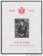 MONACO 1974 BLOC MONACO N°8 NON DENTELE NEUF ** - Blocchi