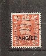 Marruecos Inglés (Tánger) - Yvert 48 (usado) - Postämter In Marokko/Tanger (...-1958)