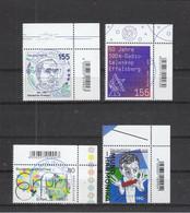 Deutschland BRD  Gestempelt 3598-3601 Alle Neuausgaben 1.4.2021 - Gebruikt