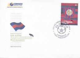 ARGENTINA. CLUB ATLETICO SAN LORENZO DE ALMAGRO, EL CICLON. ÉQUIPE DE FOOTBALL FUTBOL. 2007 SPC ENVELOPPE- LILHU - Beroemde Teams