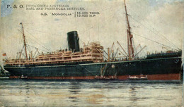 R AND O SS MONGOLIA - Paquebote