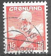 AFA#5   1938, Greenland    Used - Gebraucht