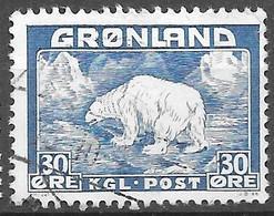 AFA#6   1938, Greenland    Used - Gebraucht