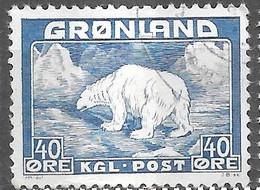 AFA#27   1946, Greenland    Used - Gebraucht