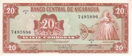 BILLETE DE NICARAGUA DE 20 CORDOBAS DEL AÑO 1978 SIN CIRCULAR (UNCIRCULATED)  (BANK NOTE) POLIMERO - Nicaragua
