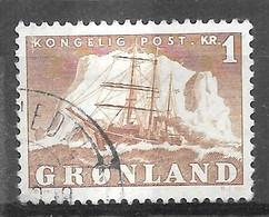 AFA#34   1950, Greenland    Used - Gebraucht