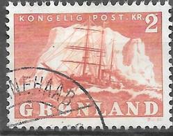 AFA#35   1950, Greenland    Used - Gebraucht