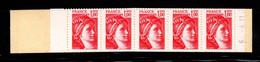 France Carnet 1972 C1a Sabine De Gandon Daté - Definitives