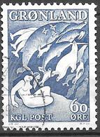 AFA#39   1957, Greenland    Used - Gebraucht