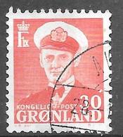 AFA#44   1959, Greenland    Used - Gebraucht