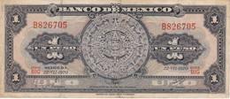 BILLETE DE MEXICO DE 1 PESO DEL AÑO 1970 (BANKNOTE) - Mexico