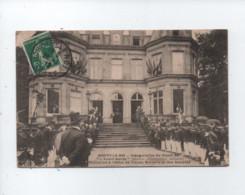 """CPA - Choisy Le Roi - Inauguration Du Stand De """"L'Avant Garde"""" (Société D'Instruction Militaire ) Réception à L'Hôtel De - Choisy Le Roi"""