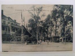 Liège. Entrée Du Boulevard De La Sauvenière En 1905 - Liège