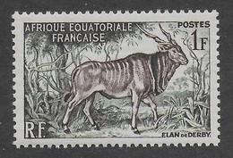 AFRIQUE EQUATORIALE FRANCAISE - AEF - A.E.F. - 1957 - YT 238** - MNH - Ongebruikt