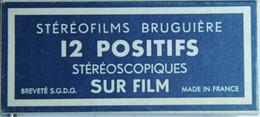 BRUGUIÈRE    STÉRÉOFILMS : 144  ILLUMINATIONS DE LOURDES - Stereoscopes - Side-by-side Viewers