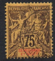 Sénégambie Et Niger 1903 , YT 12 Oblitéré Côte 62 - Used Stamps